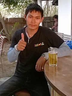 Khun Ice - a sweet and friendly guy for all your transport needs