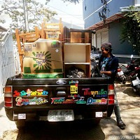 Khun ICe Moving delivery truck Chiang mai